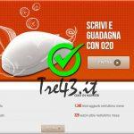 Guadagnare Con Internet da Casa: O2O – Scrivi e Guadagna con i tuoi Contenuti.