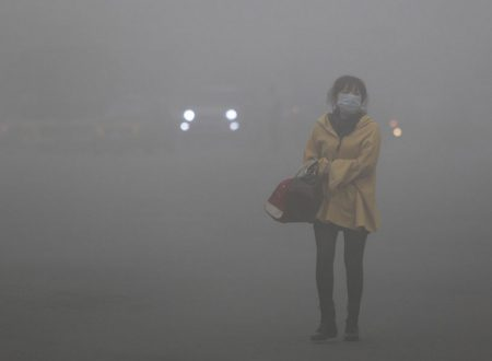 Inquinamento in Cina,smog soffoca il nordest
