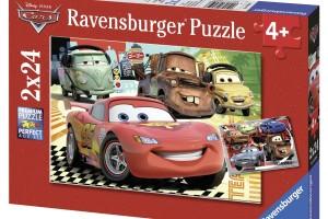 Puzzle :Le Nuove Avventure di Cars, 2×24 Pezzi