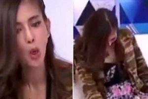 Thailandia, modella posseduta da un fantasma in diretta tv