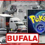 La bufala dell'uomo che causa un incidente in autostrada mentre gioca a Pokemon GO