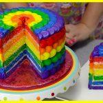Cucina Tutorial Ricette_Come fare una torta Arcobaleno Cake