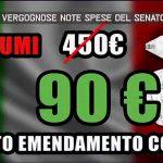 Le vergognose note spese del senatore Codazzo