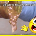 Che olio c'è nelle merendine dei bambini…