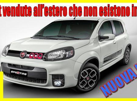 Le Auto Fiat vendute all' estero che non esistono in Italia.