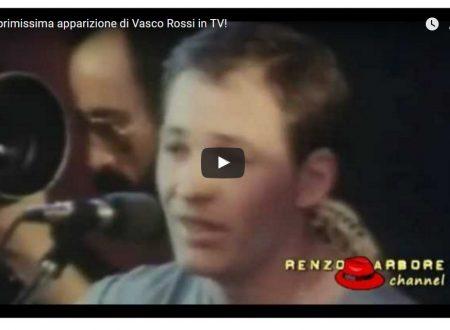 La primissima apparizione di Vasco Rossi in TV!