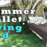 Come Costruire Un Dondolo Da Giardino Usando Due Pallet