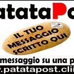 Lo sapevi che? Con PatataPost puoi inviare un  Messaggio Su Una Patata vera?