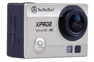 Offerta Lampo:EUR 84,99 Spedizione Gratis- TecTecTec XPRO2 Action Camera Ultra HD 4K – WiFi Camera di altissima qualità Ultra HD 16 Mp Gold