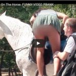Sexy Candid Camera_Help Me Get On The Horse. FUNNY VIDEO PRANK