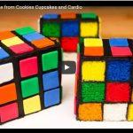 Torta Cubo di Rubik_Rubik's Cube Cake from Cookies Cupcakes and Cardio