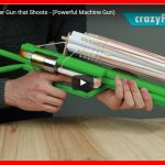 Come costruire una pistola che spara elastici (potente mitragliatrice) – How to Make a Paper Gun that Shoots – (Powerful Machine Gun)