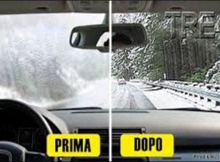 Trucco_Come evitare l'appannamento dei finestrini dell'auto
