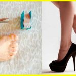 Mal di piedi con i tacchi alti? Ecco un semplice trucco…