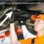 Come cambiare le boccola della barra stabilizzatrice anteriore AUDI A6 C5 Tutorial Guida