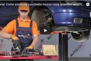 Video Guida Tutorial: Come sostituire cuscinetto mozzo ruota anteriore su OPEL ASTRA G