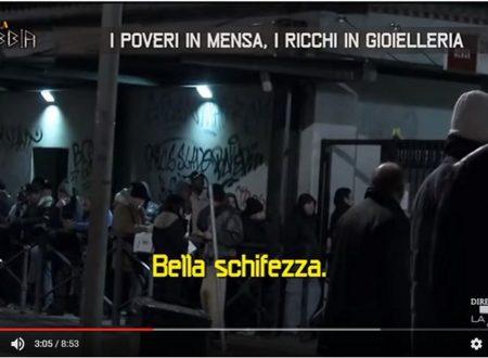 I poveri italiani in mensa, i ricchi in gioielleria