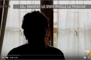 Agli immigrati lo stato regala la pensione, Vergogna…