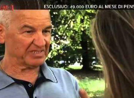 ESCLUSIVO: 91 MILA EURO AL MESE DI PENSIONE