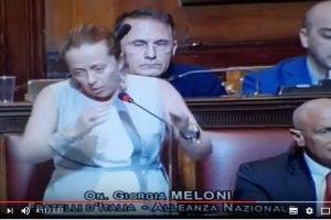 Immigrazione, Giorgia Meloni fulmina Minniti.