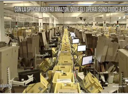 Con la spycam dentro Amazon, dove gli operai sono codici a barre