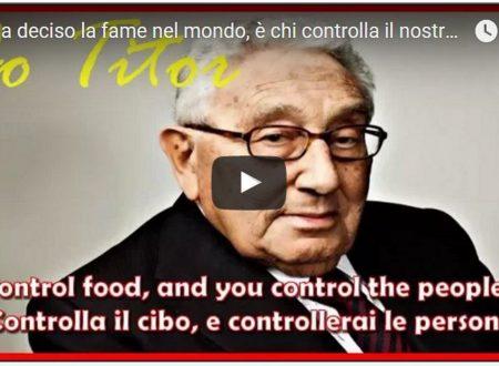 Chi ha deciso la fame nel mondo, è chi controlla il nostro cibo.