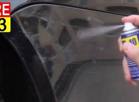 Ecco L'incredibile trucco per togliere i graffi dell'auto