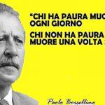 L'ultima lettera di Paolo Borsellino, 5 del mattino del 19 Luglio 1992, dodici ore prima…
