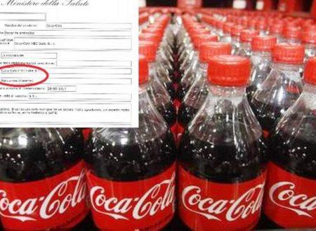 Basilicata – Lotto di bottiglie Coca Cola ritirato: Causa rischio di presenza di allergeni