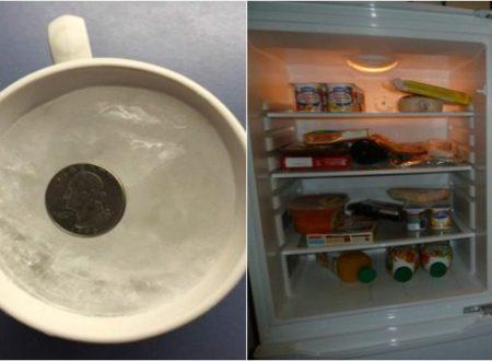 Un trucco geniale della moneta nel frigo.