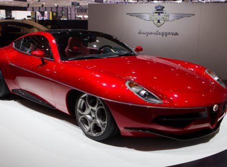 Alfa Romeo Disco Volante – Un V8 da 4,7 litri con 450CV.