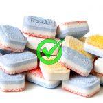 Ecco Come preparare in casa le pastiglie per la lavastoviglie con 0.43 cent.