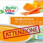 Richiamo per rischio microbiologico – Bellavita Vellutata di zucca e carota Preparato biologico surgelato.