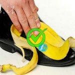 L'incredibile rimedio per lucidare le scarpe – Basta 1 buccia di Banana.