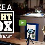 Come Costruire un Light Box fotografico fai da te