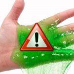 Slime – Secondo i test di altroconsumo SONO PERICOLOSI per i bambini.