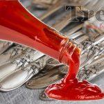 Ketchup per Far brillare l'argento : Un rimedio veloce ed efficace.